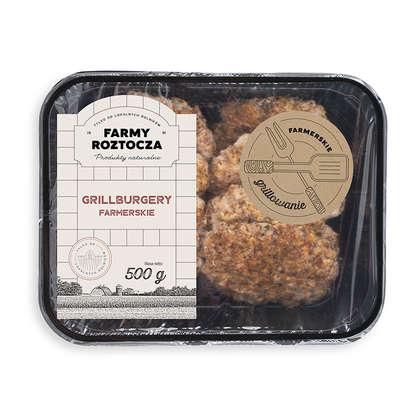 Grillburgery farmerskie ok .500 g