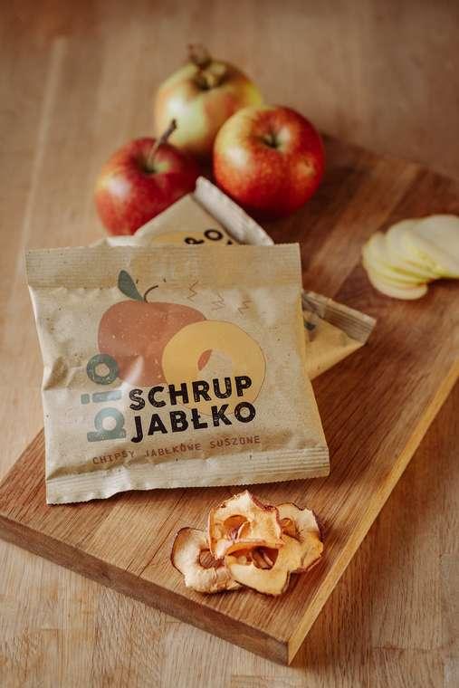 BIO chipsy jabłkowe schrup jabłko